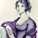 The Purple Lady of 1803 by ArtByJessicaJ