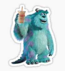 Sulley Runs on Dunkin Sticker
