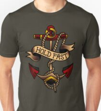 American Traditional Hold Fast Anchor Slim Fit T-Shirt