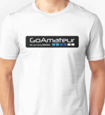 Go Amateur Sticker Unisex T-Shirt