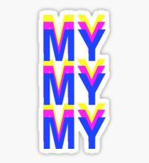 TROYE Sticker