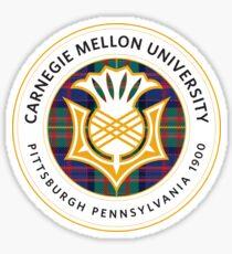 Carnegie Mellon University Circular Logo Sticker