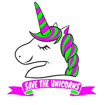 Save The Unicorns by jonaszeferino