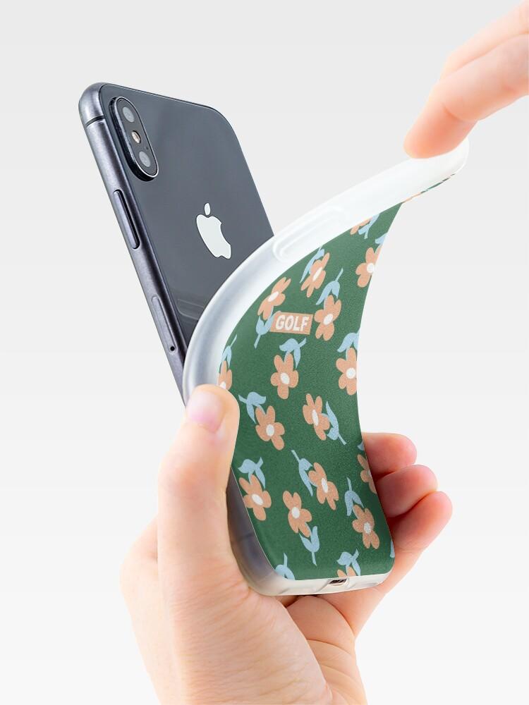 Alternative Ansicht von Blumen GOLF   Tyler der Schöpfer iPhone-Hülle & Cover