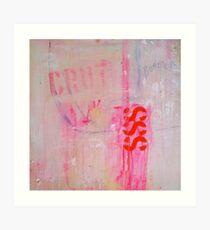 Crut Art Print