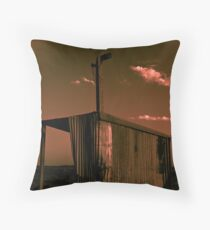 Pumping Station Throw Pillow