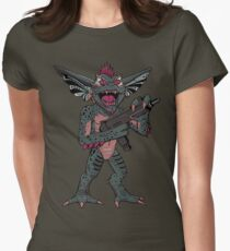 Gremlins Mohawk  Womens Fitted T-Shirt