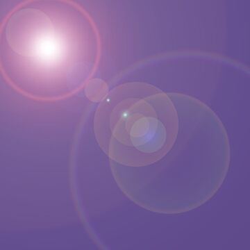 Ultra Violet Color of the Year lens flare by coverinlove