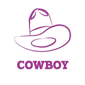 Cowboy t-shirt by hebron