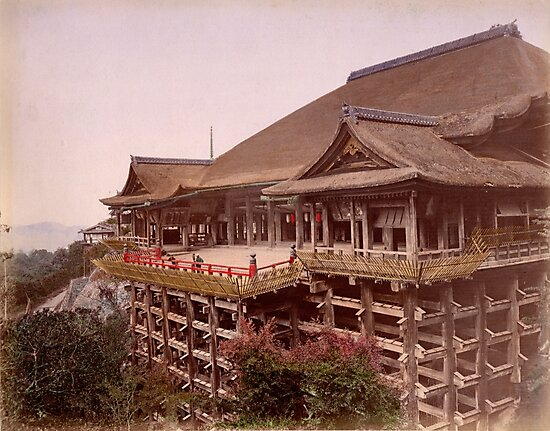 Kiyomidzu Temple, Japan by Fletchsan