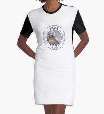 Winter Solstice Graphic T-Shirt Dress