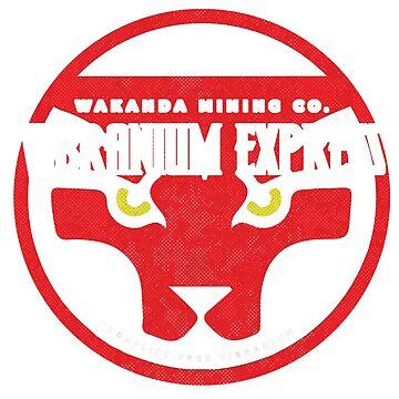 Vibranium Express by halfcrazy