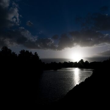 Early Morning on the Hunter River by DeborahMcGrath