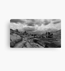Clouds over the Pacific Crest Trail Canvas Print