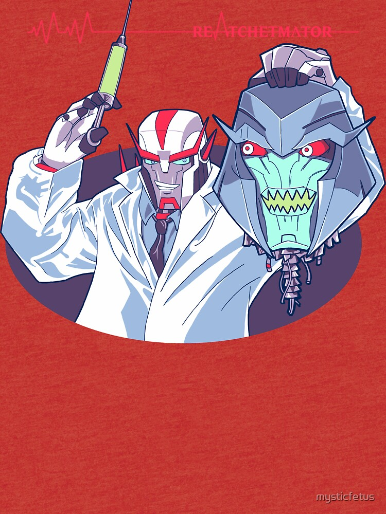 Transformers Prime Reanimator mashup ReAtchetmator | Tri-blend T-Shirt