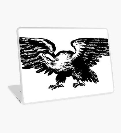 Retro and Vintage American Bald Eagle Laptop Skin