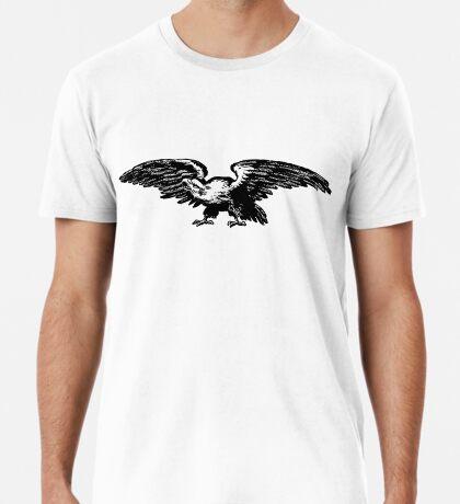 Retro and Vintage American Bald Eagle Premium T-Shirt