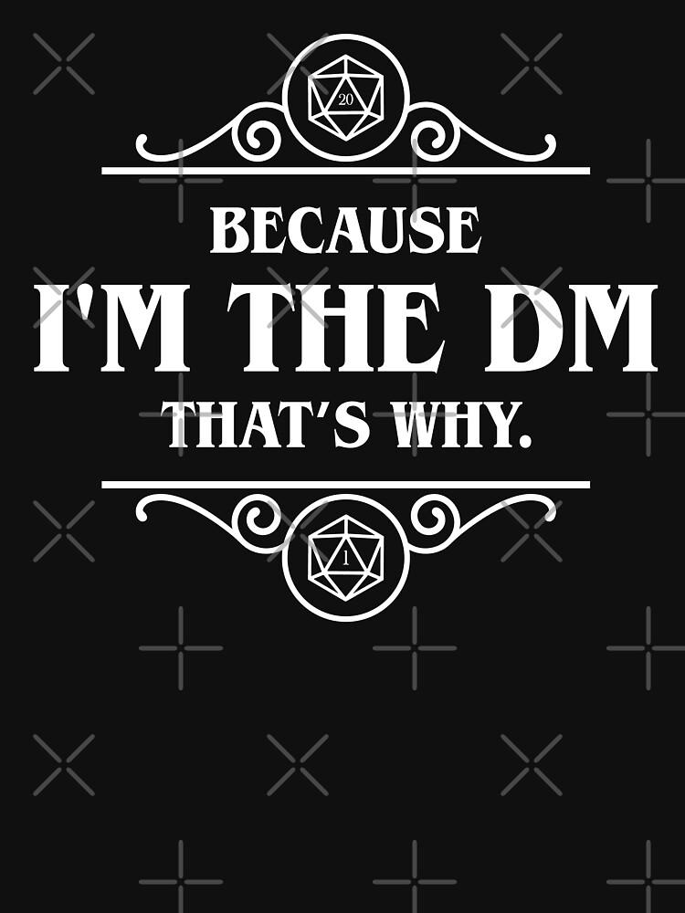 Ich bin der DM das ist, warum Game Master Tabletop RPG Gaming von pixeptional