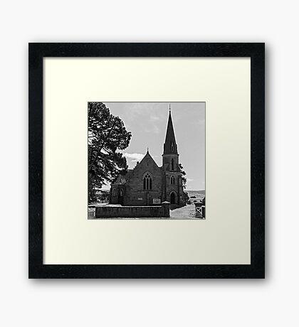 Ross Uniting Church Framed Print