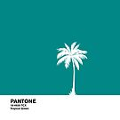 Tropical Green Pantone by coverinlove