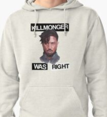 KILLMONGER WAS RIGHT Pullover Hoodie