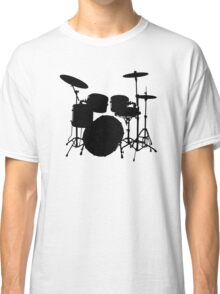 Drum Set Icon Symbol Classic T-Shirt