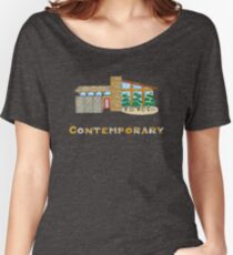 Contemporary Style House Women's Relaxed Fit T-Shirt