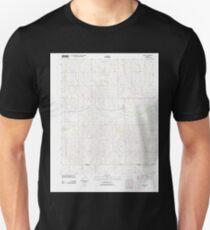 USGS TOPO Map Kansas KS Spivey 20120904 TM Unisex T-Shirt