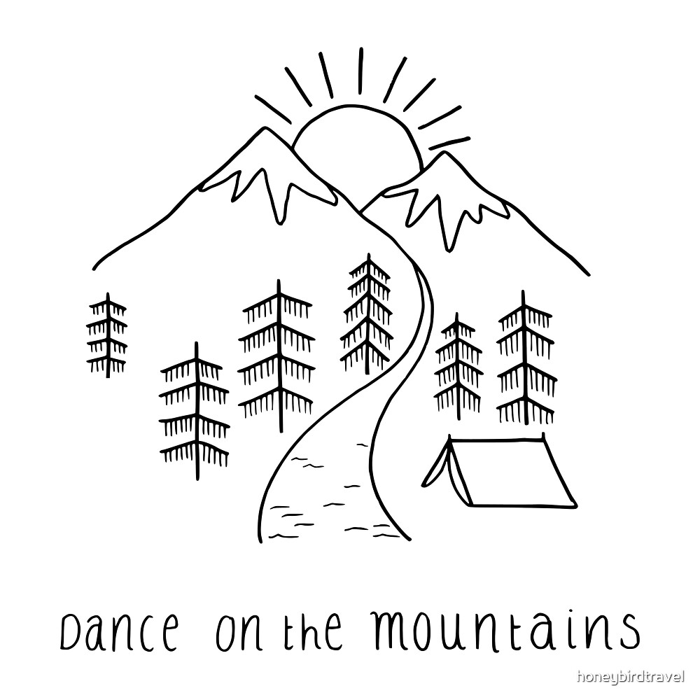 Dance on the mountains by honeybirdtravel