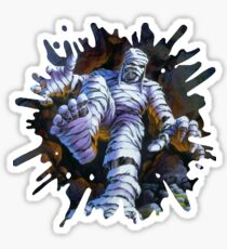 The Mummy Walks Sticker