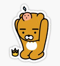 pimple bear Sticker