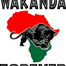Wakanda Forever Panther by EthosWear