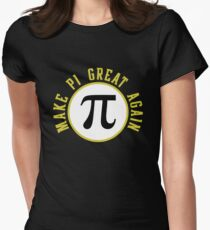 Make PI Great Again 3.14 Day Women's Fitted T-Shirt