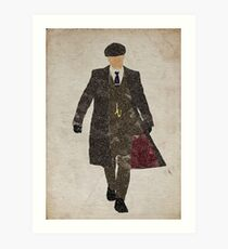 Tommy Shelby (Cillian Murphy) Peaky Blinders Art Print