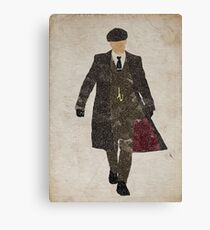 Tommy Shelby (Cillian Murphy) Peaky Blinders Canvas Print