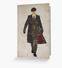 Tommy Shelby (Cillian Murphy) Peaky Blinders Greeting Card