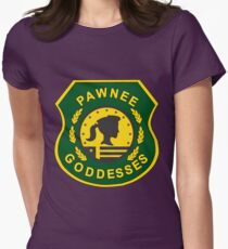 Pawnee Goddesses Women's Fitted T-Shirt