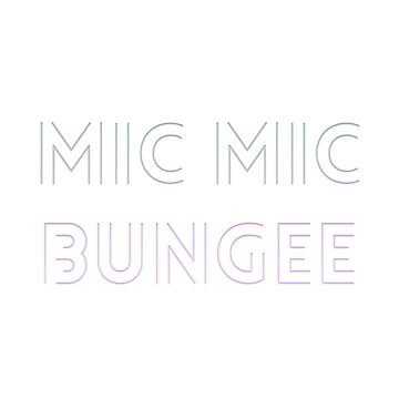 mic mic bungee by cahacc