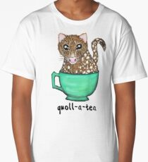 Quoll A Tea - Pink Long T-Shirt