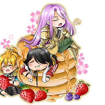 Hotcakes Kotetsus by Kamapon