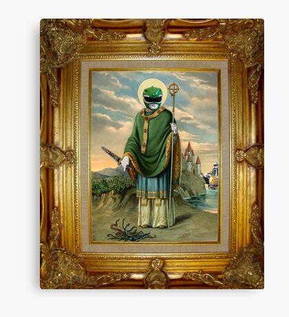 Saint Green Canvas Print