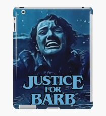 Stranger Things Justice for Barb iPad Case/Skin