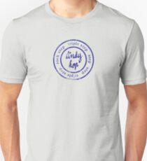 lindy circle Slim Fit T-Shirt