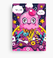 Sugar High: Sprinkles 2 Canvas Print