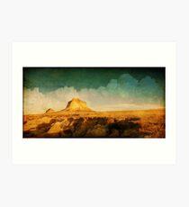 Pawnee Plains Art Print