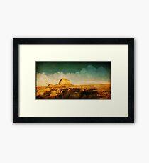 Pawnee Plains Framed Print