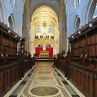 The Chancel And High Altar by lezvee