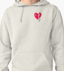CDG LOGO RED Pullover Hoodie