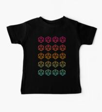 DnD D20 Dice Dungeon Master Dungeons and Dragons D&D Inspired Tabletop RPG Gaming Baby Tee