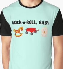Rock-n-Roll, Baby Graphic T-Shirt